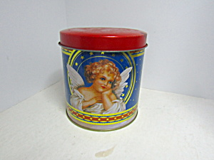 Vintage Giftco Angel Canister Tin