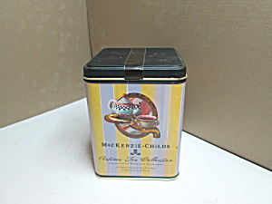Vintage Mackenzie-childs Artisan Tea Can