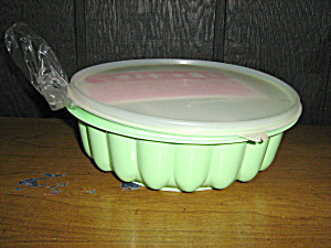 Vintagetupperware Mint Green 3 Piece Jello Mold