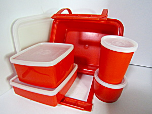 Vintage Tupperware Pack-n-carry Lunch Box