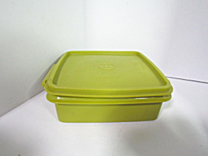 Vintage Tupperware Square Away Sandwich Keeper