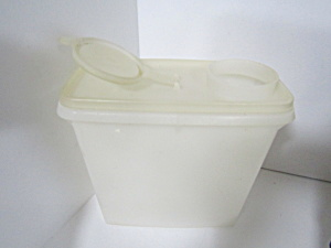 Vintage Tupperware Super Server Clear Lid Cereal Keeper