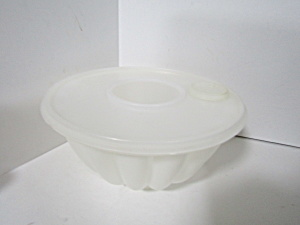Vintage Tupperware Large Par-t Jel Mold Set