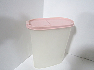 Vintage Tupperware One Pink Modular Mate Space Saver