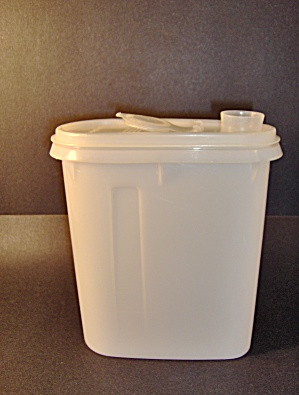 Vintage Tupperware White Juice Pitcher