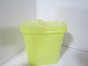 Tupperware Beverage Buddy Jr Yellow Juice Pitcher