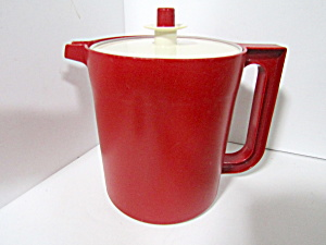 Tupperware Vintage Cranberry Red 1.5 Quart Pitcher