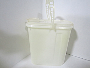 Vintage Tupperware Beverage Buddy White Juice Pitcher