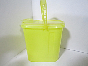 Vintage Tupperware Beverage Buddy Yellow Juice Pitcher