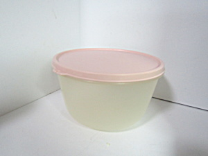 Vintage Tupperware Round Modular Mate Sheer Bowl