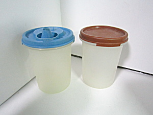 Vintage Tupperware Round Modular Mate #2 Set