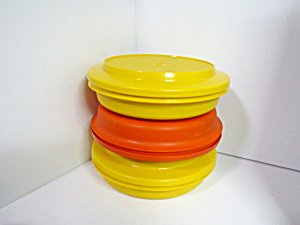 Vintage Tupperware Large Seal & Serve Set