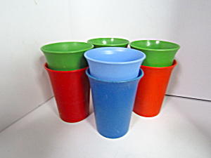 Vintage Tupperware Bell Tumbler Set