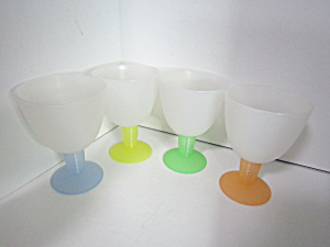 Vintage Tupperware Impressions Beverage Glasses