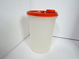 Vintage Tupperware Clear Handolier Beverage Container