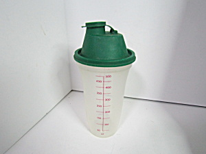 Vintage Tupperware Mix-n-fix Measure Mixer Shaker