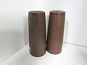 Vintage Perfect Storage Brown Tumbler Set