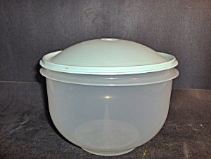 Vintage Tupperware Clear/green Lettuce Keeper