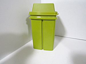 Tupperware Pick-a-deli Pickle Keeper Olive Green