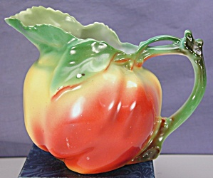 Royal Bayreuth Figural Apple Milk Pitcher