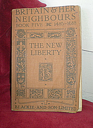 Britain & Her Neighbors Schoolbook-book 5 Vintage