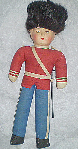Doll Vintage Cossack Soldier Russia