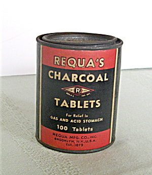 Requa's Charcoal Tablets 1956
