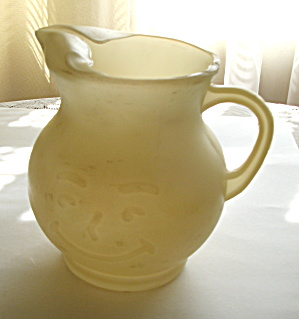 Kool-aid Plastic Smiley Face Pitcher 1950