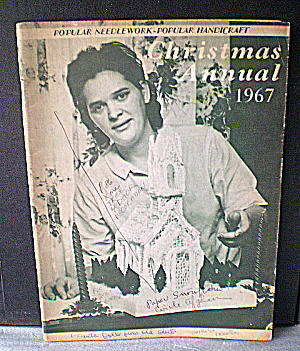 Xmas Popular Handicraft/popular Needlework Mag 1967