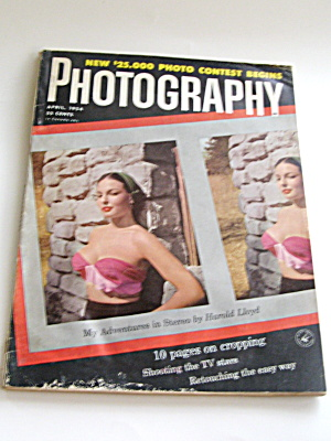 Vintage Photography Magazine April 1954