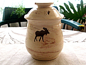 Alaskan Denali Magic Pottery Jar