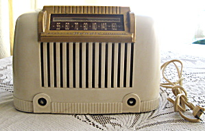Vintage Bendix Aviator Model 111w Tube Radio