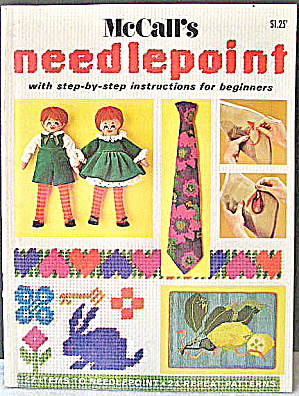 Mccall's Needlepoint Patterns&design Vintage1955