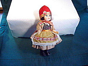 Gorgeous Ethnic Doll In Peasant Clothes