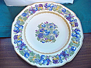 Crown Ducal Florentine Majolica Plate