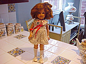 Shirley Temple Ideal St17 With Original Pin