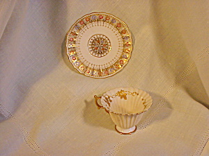 American Belleek Exquisite Cup And Saucer
