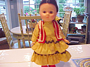 Ethnic Vintage Rubber Doll