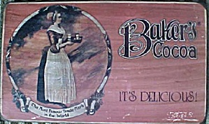 Baker's Coca Advertising Plaque