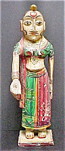 Asian Indian Female Statue - 20th Century