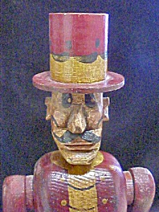 Contemporary Folk Art Style Top Hat Villain
