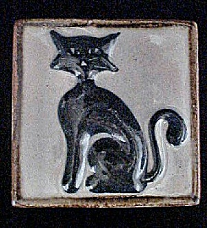 Mexican Cat Ceramic Tile