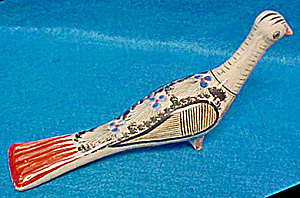 Ceramic Art Bird - Mexico - 20th Century
