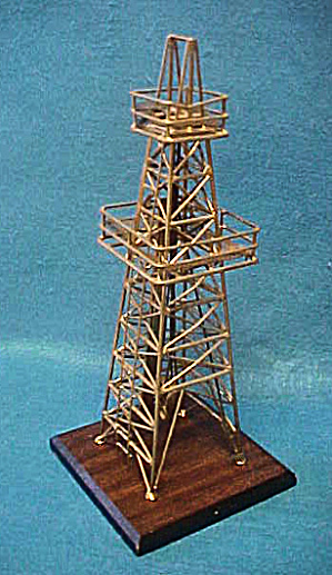 Oil Rig Sculpture - 20th Century