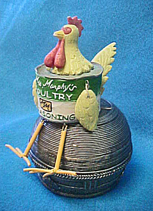 Mrs Murphy's Poultry Seasoning Chicken Figure