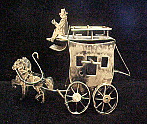 Horses And Coach Music Box