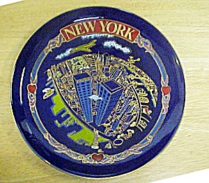 World Trade Center Souvenir Plate