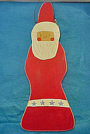 Santa Clause - Primitive Wooden