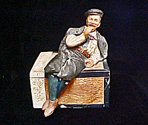 Habanna Colorado Figural Ceramic Cigar Box