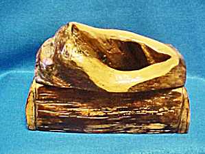 Wood Art Box - Tree Hollow Lid